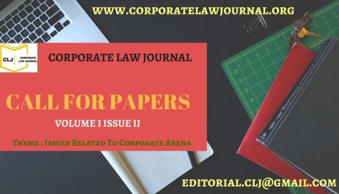 CORPORATE LAW JOURNAL