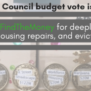 Tell DC Council to Stop Displacement, Repair Public Housing, and End Homelessness!