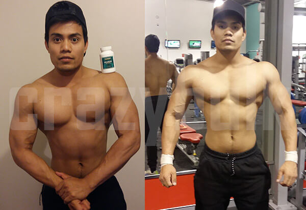 Decaduro results before and after
