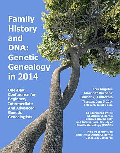 DNA 2014 post card