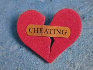 Broken Red Cheating Heart