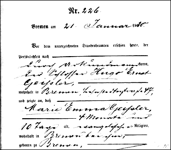 Marie's death, 1920
