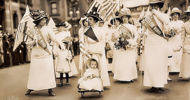 Youngest suffragette