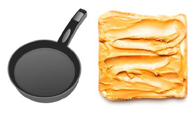 fried peanut butter sandwich