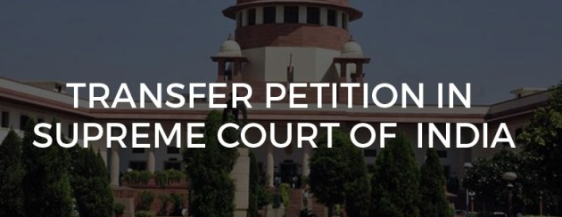 Transfer petition supreme court