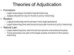 Theories of Adjudication