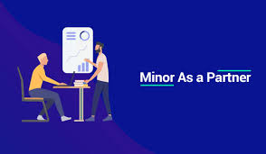 Minors As Partners of Firm