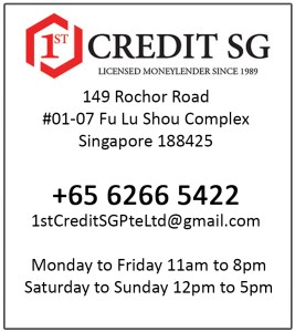 1st Credit SG Pte Ltd