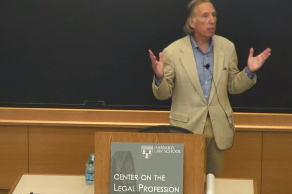 Harvard Law School Speaker Series