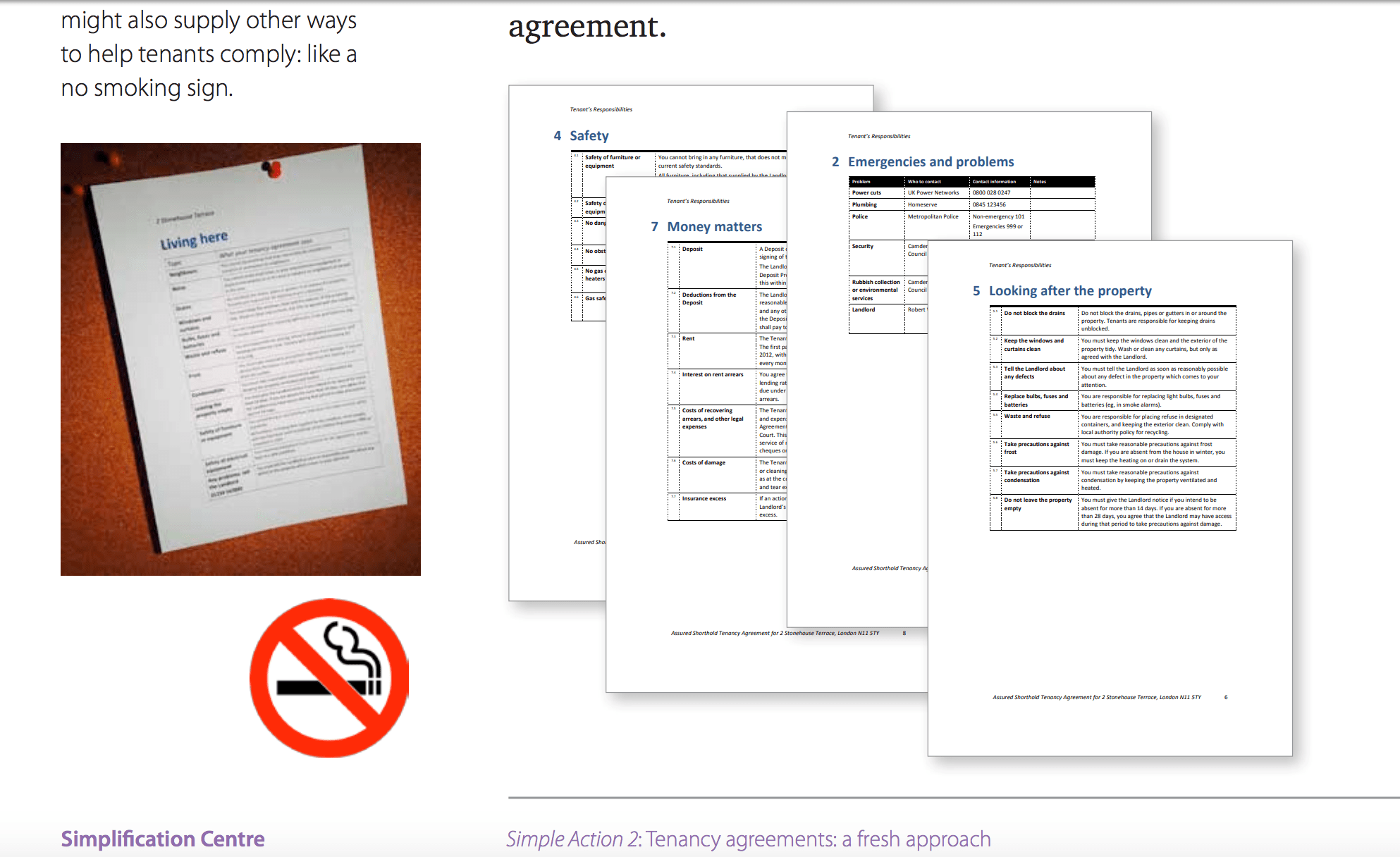 Redesigned Rental Agreement For Landlords Tenants From The