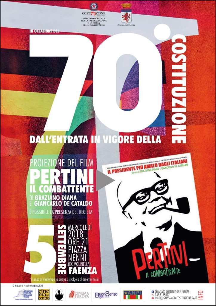 """Proiezione del film-documentario """"Pertini, il combattente"""""""