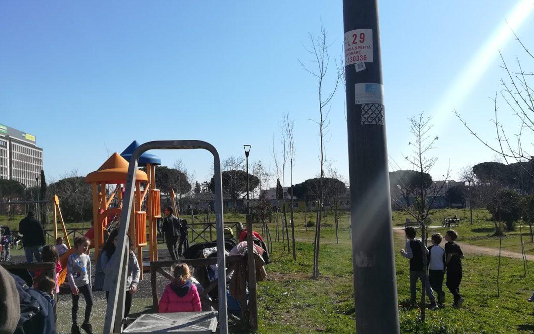 NO2 NO GRAZIE! al Parco Garbatella