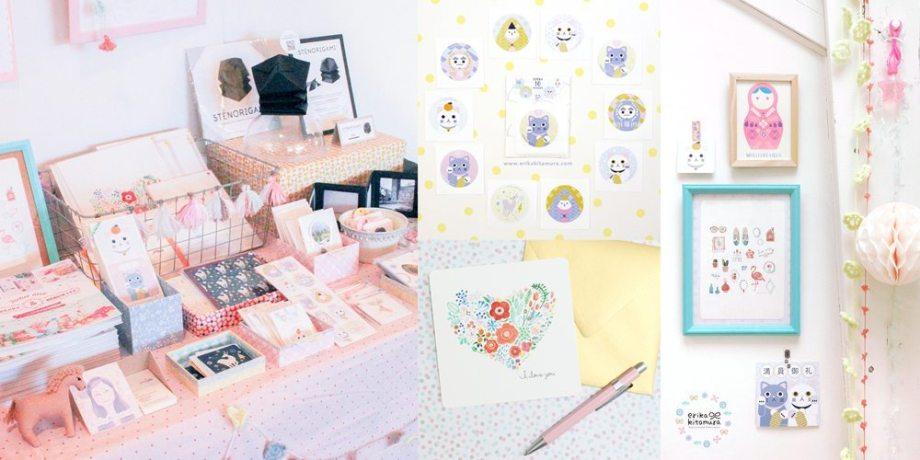 Erika Kitamura / Illustration & Papeterie créative