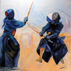 George ROUX / 剣と絵筆の道(La voie du sabre et du pinceau)