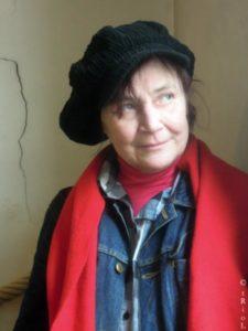 """Ingrid Naour, auteure du roman """"Les trous de conjugaison"""","""