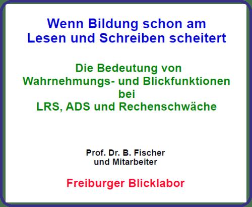 Blicklabor, Lesen, Schreiben, Rechnen, Legasthenie, Dyskalkulie, Fachtagung, Bildung