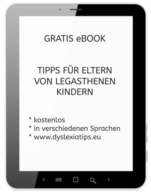 eBook, Legasthenie, Tipps, Eltern, Hilfe, verschiedene Sprachen