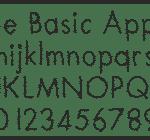Fonts, Arbeitsblätter, Schriftart, Schule, Legasthenie, Dyskalkulie, Legasthenietraining, Lesen, Schreiben
