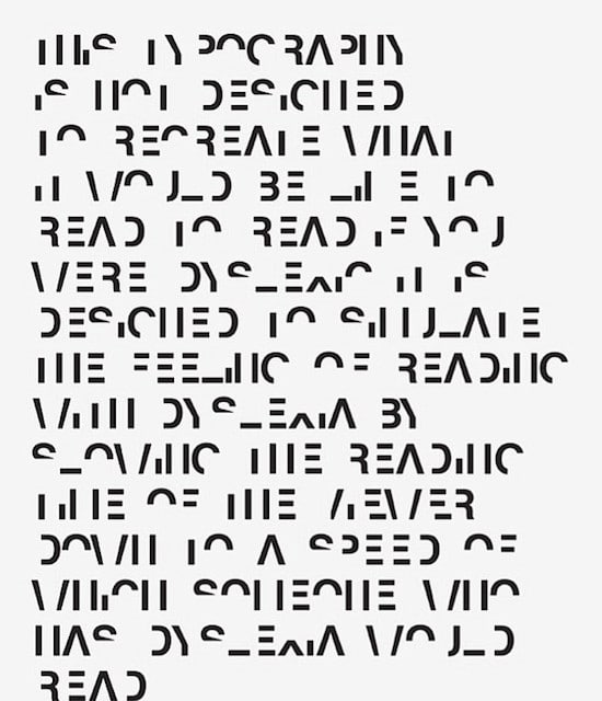 lesen, Legasthenie, Schriftart, Font, Dyslexie, Daniel Britton