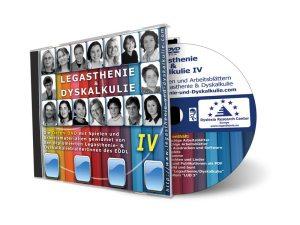 Legasthenie und Dyskalkulie IV DVD-Rom