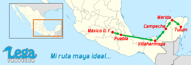 Mi ruta maya ideal