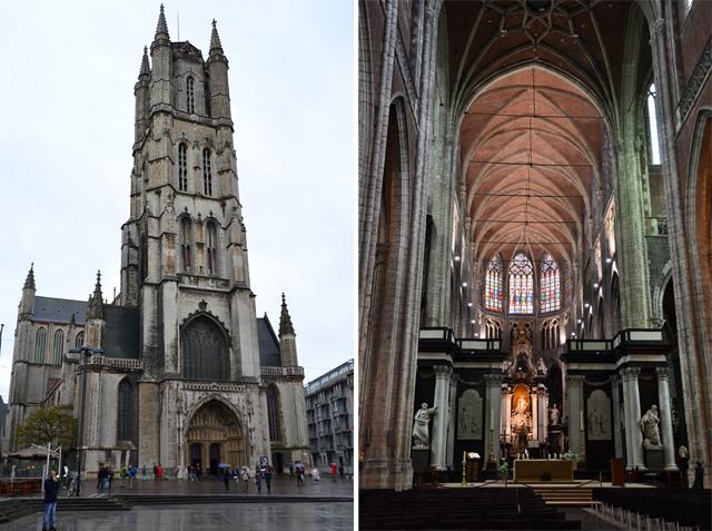 catedral de san bavón gante