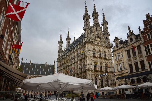 Lovaina 04  Ayuntamiento Grote Markt