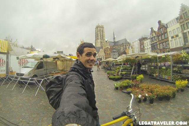 Ruta en bicicleta por Malinas Belgica