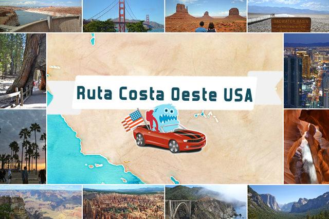 Guía de la Costa Oeste de EEUU, Ruta 18 días