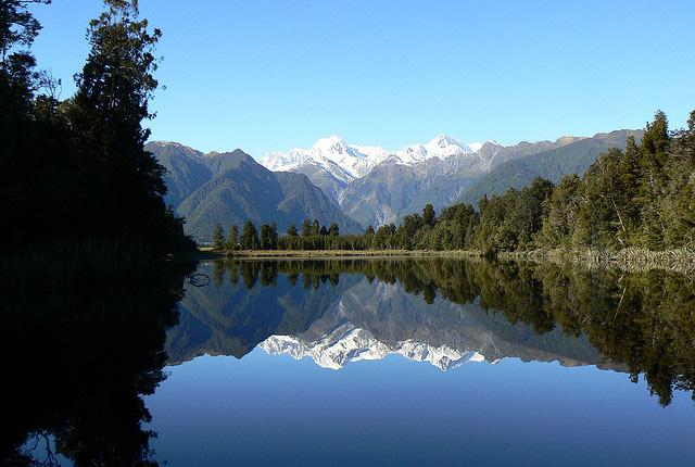 Lake Matheson Nueva Zelanda