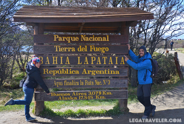Parque Nacional Tierra del Fuego Bahia Lapataia Ushuaia Argentina