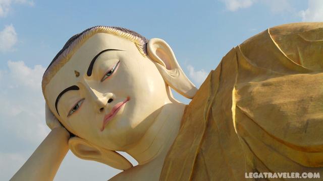 Shwethalyaung Buda Myanmar