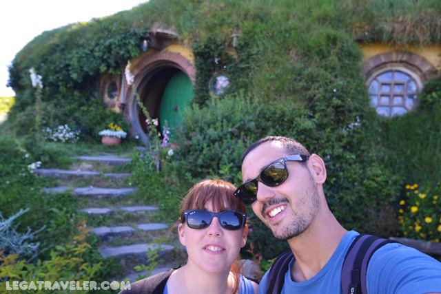 selfie-en-la-casa-de-bilbo-hobbiton-nueva-zelanda
