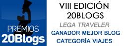 Lega Traveler Mejor blog de viajes 2014
