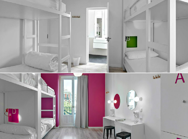 habitaciones-grupos-u-hostels-madrid