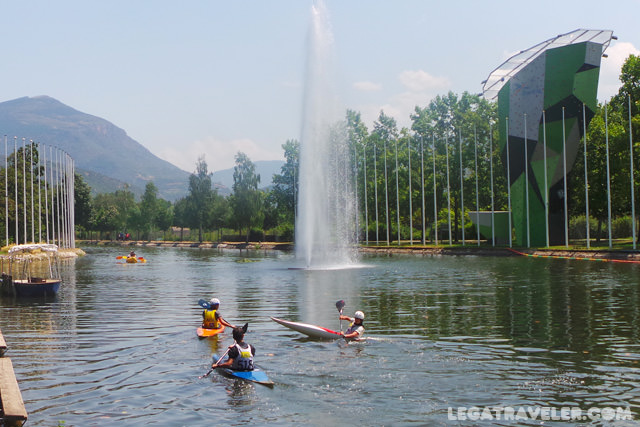 parque olimpico segre aventura