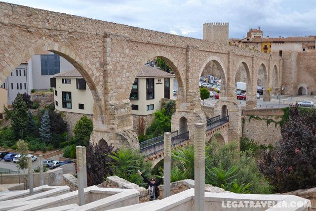 Acueducto Viaducto de los Arcos - Que ver en Teruel
