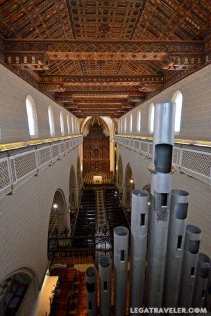 que ver en teruel interior catedral
