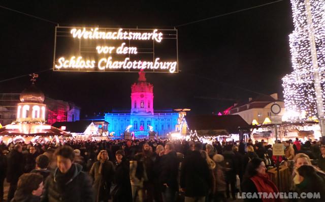 Mercadillos Navidad Berlin Charlottenburg Palace