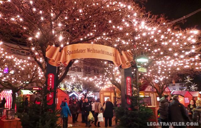 Mercados Navidad Berlin Spandau