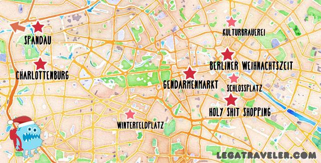 mercados navidad berlin mapa