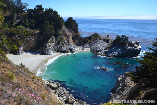 que ver costa california Julia Pfeiffer Burns State Park