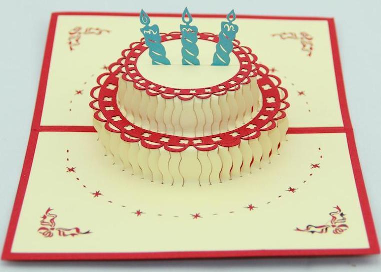Marvelous Pop Up Birthday Cake Card Legendary Letters Personalised Birthday Cards Petedlily Jamesorg