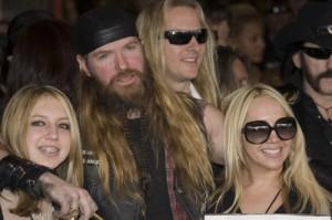 Zakk Wylde with family