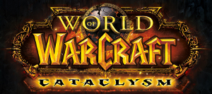 Logo de l'extension WoW : Cataclysm