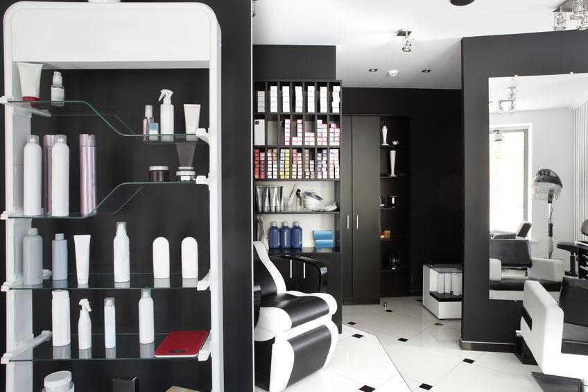 mobilier coiffure fauteuil de coupe et bac à shampoing