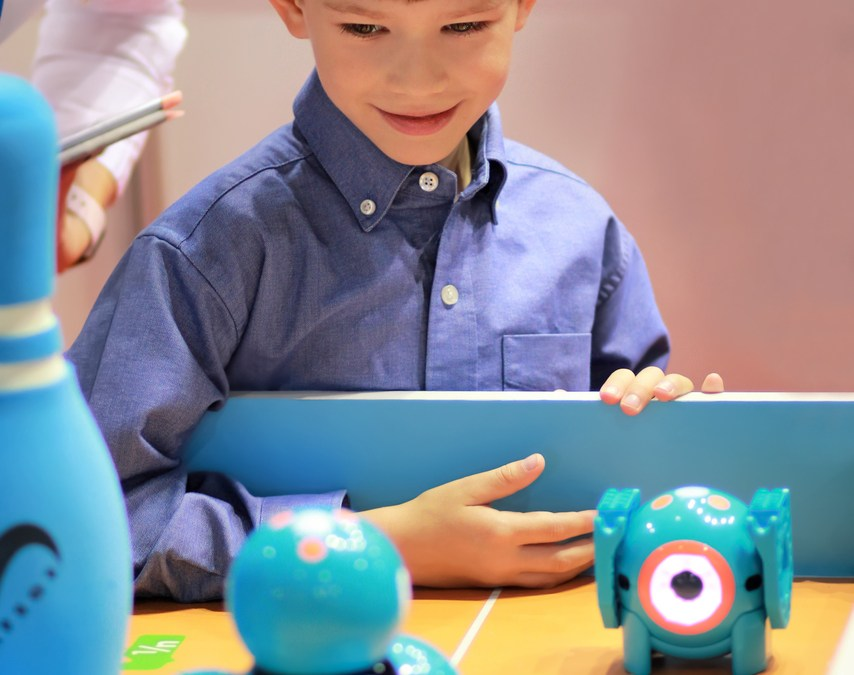 Line, Shapes, & Speed: Math & Science with Dash & Dot