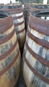 Barrels of Legends at Ardbeg