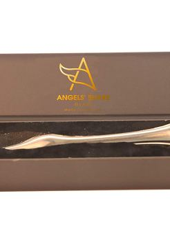 Angels Share Glass - Glass Whisky Water Dropper Thistle top