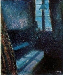 Edvard Munch - Night in Saint-Cloud (1890)